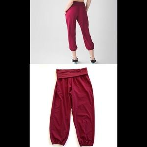 Lululemon Om Pants in Cranberry